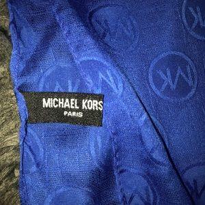 Dark blue Michael kors scarf